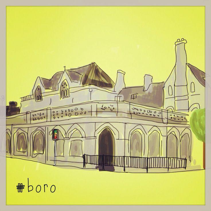 Boro. Cornerhouse. TenFeetTall.