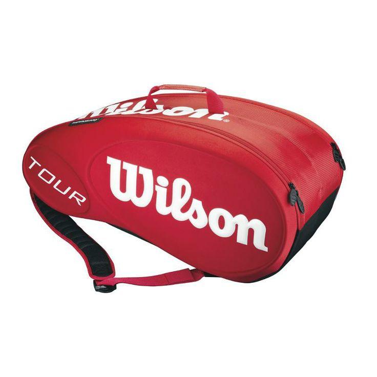 /** Priceshoppers.fr **/ Sac tennis Wilson Tour Red 9 Pack