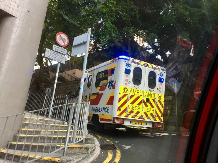 Bill ✔️ Hong Kong operates a high standard of emergency services - Police, Fire and Ambulance. The streets are congested and difficult for ambulances to make much sped, though.     Bill Gibson-Patmore.  (iPhone image, curation & caption: @BillGP). Bill ✔️.