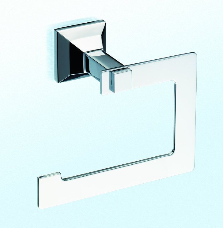 Toto YP930 Single Post Toilet Paper Holder from the Lloyd Collection Polished Chrome Accessory Tissue Holder