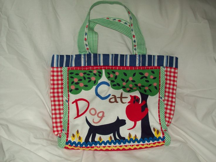 A child's tote bag because she's now a big sister