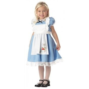 This has to be the cutest Kids Alice in Wonderland Costume!