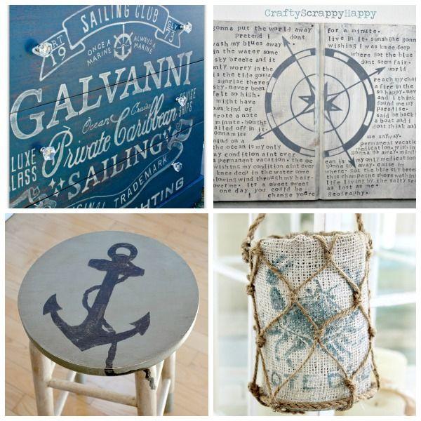 Best 25 nautical decor ideas ideas on pinterest for Nautical craft ideas