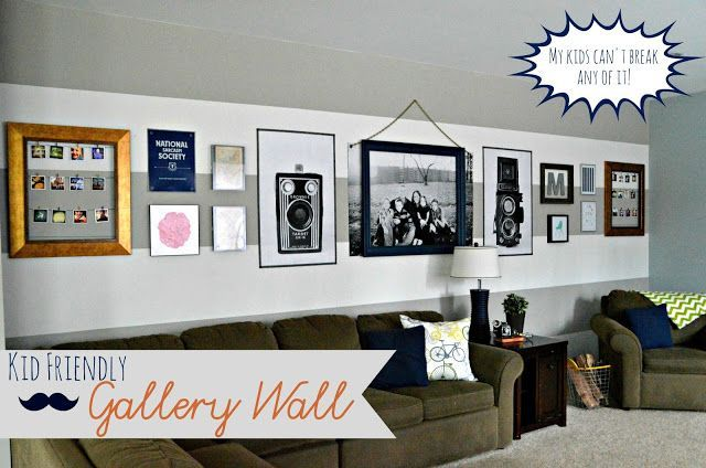 Kid Friendly Design A Gallery Wall With Staples Engineer Prints Gallery Wall Decorating With Pictures Diy Home Decor