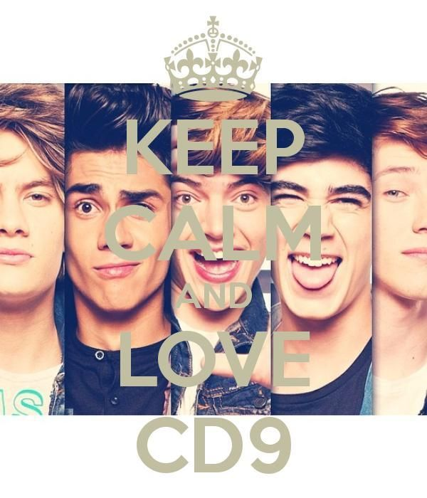 KEEP CALM AND LOVE CD9