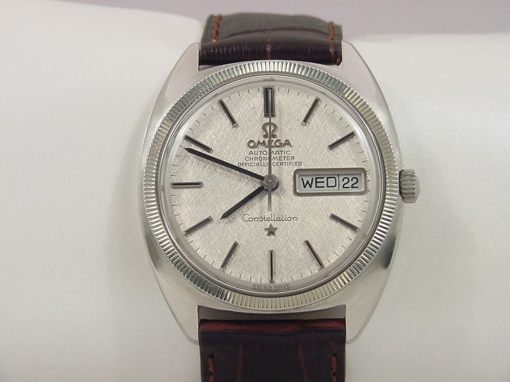 1969 OMEGA CONSTELLATION DAY/DATE CHRONOMETER