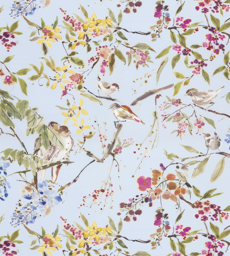 Penglai Fabric by Nina Campbell | Jane Clayton