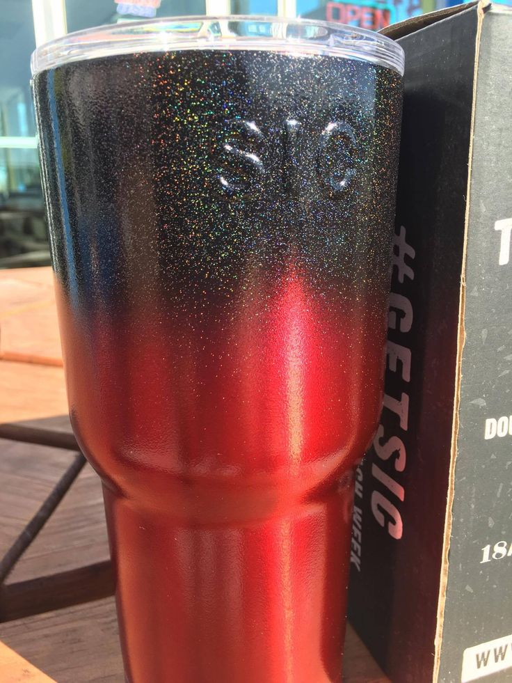 Color:CHROME RED/STARDUST METALLIC BLACK Sic Cup 30oz ...