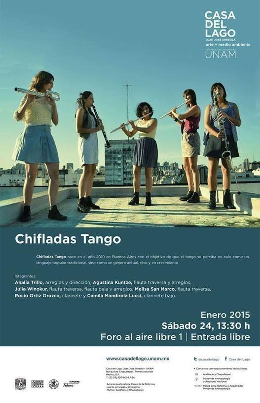 México: Chifladas Tango en Casa del Lago