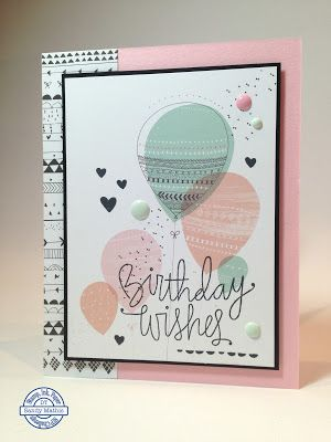 Stamp with Sandy: Balloon Birthday Wishes