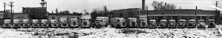 1940s Ford Post WWII Military Surplus Car & Truck Dealer.