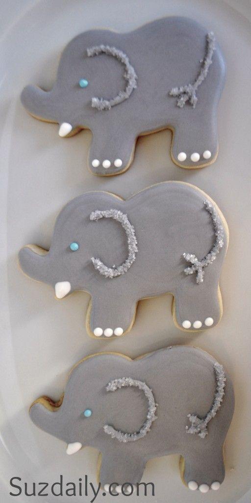 elephants cookie