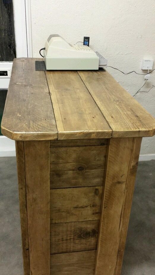Scaffold board Shop counter / bar | eBay