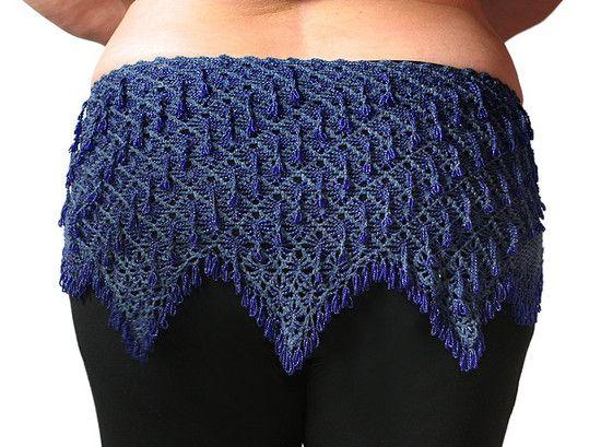 Egyptian Beaded Crochet Egyptian Belt