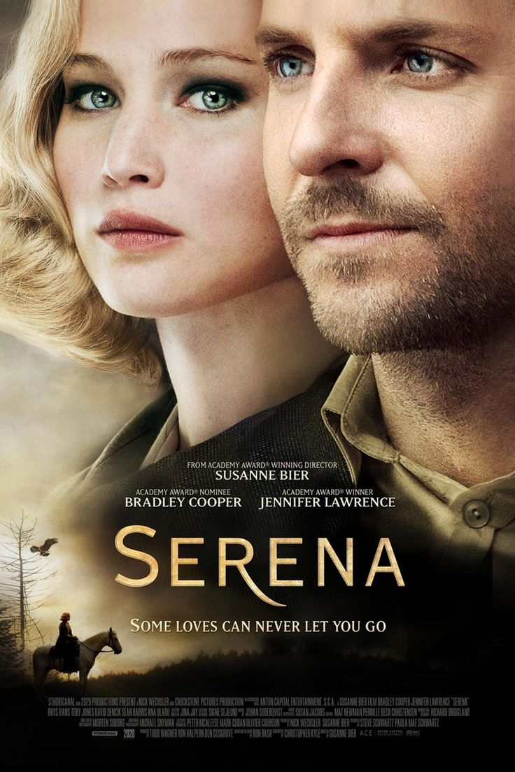 serena 2014 movie poster001 Jennifer Lawrence Stars in Serena Trailer + See the Posters!