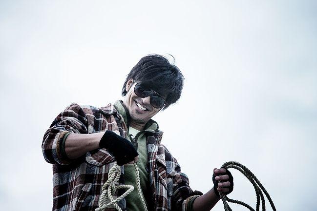 Kazuki Kitamura as the eponymous Man From Reno. Photograph by Richard Wong