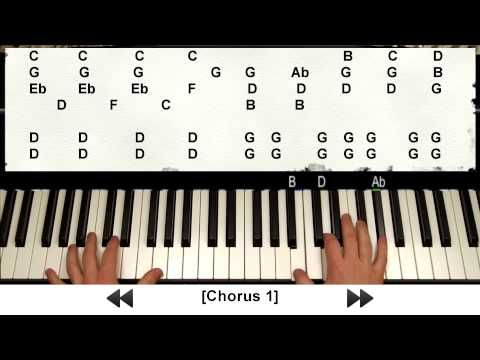How to Play Skyfall by Adele on Piano (007 Tutorial w/ Note Letters + Sheets) - YouTube