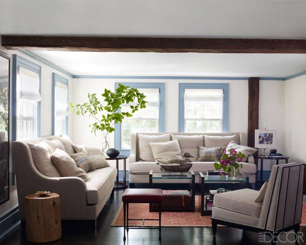 Rural Refinement Living Room Elle Decor Decor Home