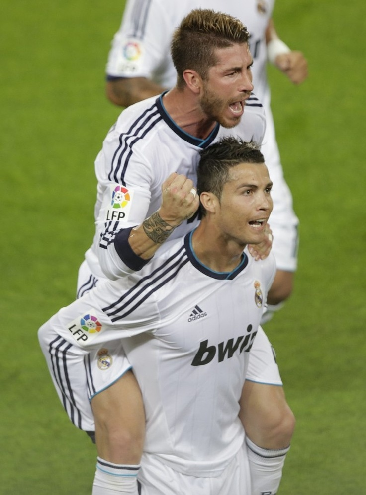 Sergio Ramos Cristiano Ronaldo Photos Photos - Real Madrid ... |Sergio Ramos And Cristiano Ronaldo