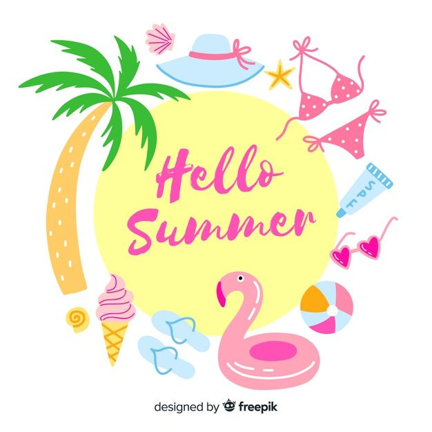 Download Hello Summer For Free Com Imagens Estampas Criativas