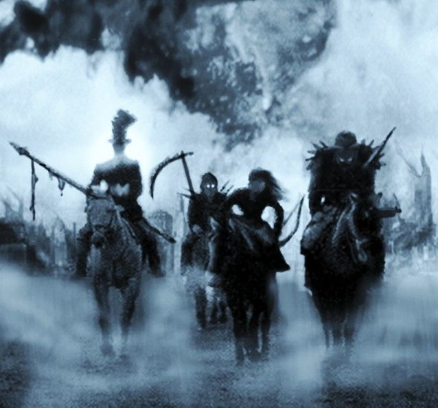 four Horsemen of the apocalypse - don't care about the article behind it. Just love the picture