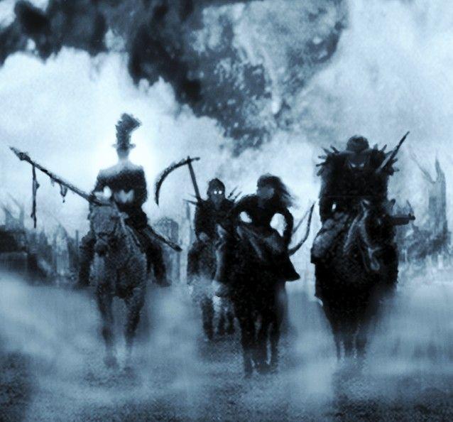 The four horsemen of the apocalypse english language essay