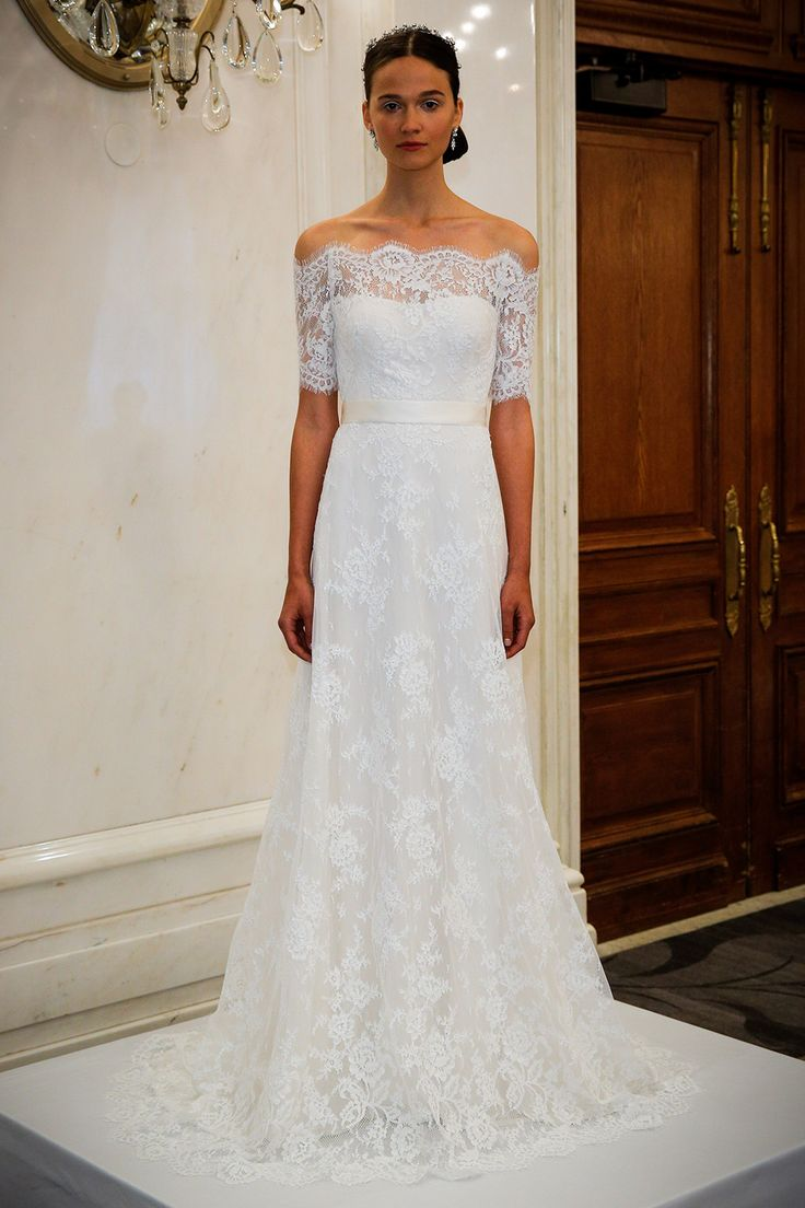 Marchesa - Spring summer 2016 bridal shows in New York | Best wedding dresses from Marchesa, Oscar de la Renta, Carolina Herrera | Harper's Bazaar
