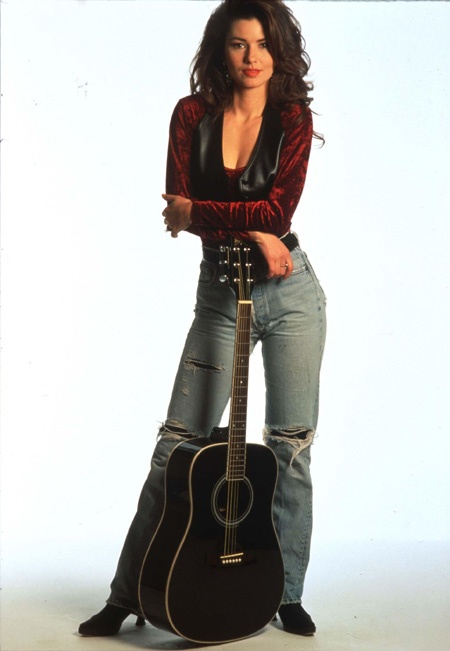 Shania Twain. Beautiful :)