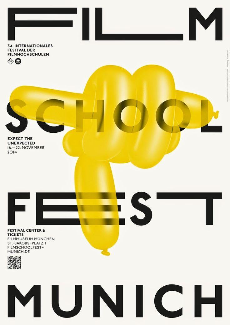 Film Festival Posters: Munich Film School Festival 2014