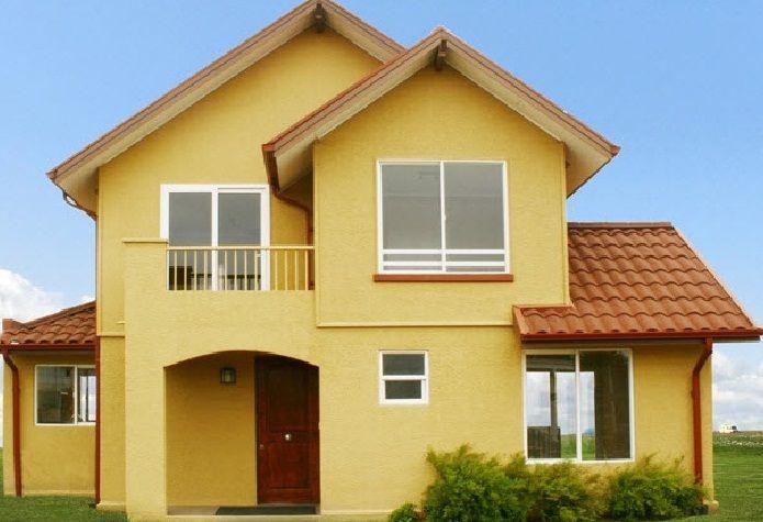 28 best colores p fachadas images on pinterest home - Colores para fachadas ...