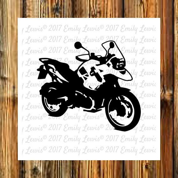 This listing is for a set of motorcycle cut files.   WHAT YOU GET: You will receive TWO separate motorcycle files in a ZIPPED folder with your purchase:   1 PNG File 1 SVG File   Note - The watermark you see in the listing image is for copyright reasons o