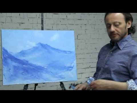 "▶ FREE! Full video ""Painting. where to start?"" painter Igor Sakharov - YouTube"