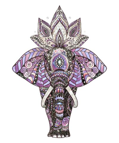 EARTHEREAL™ Cosmic Elephant - Dame