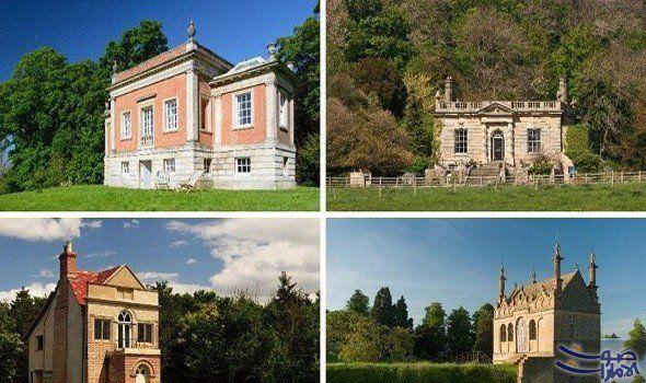 قصور بمساحات صغيرة في إنجلترا ترمز إلى العالمية تقل مساحات المنازل في إنجلترا وويلز لتصل إلى 970 قدم مربع وهو ما يقل عن ا Castle Estate Pool Houses Mansions