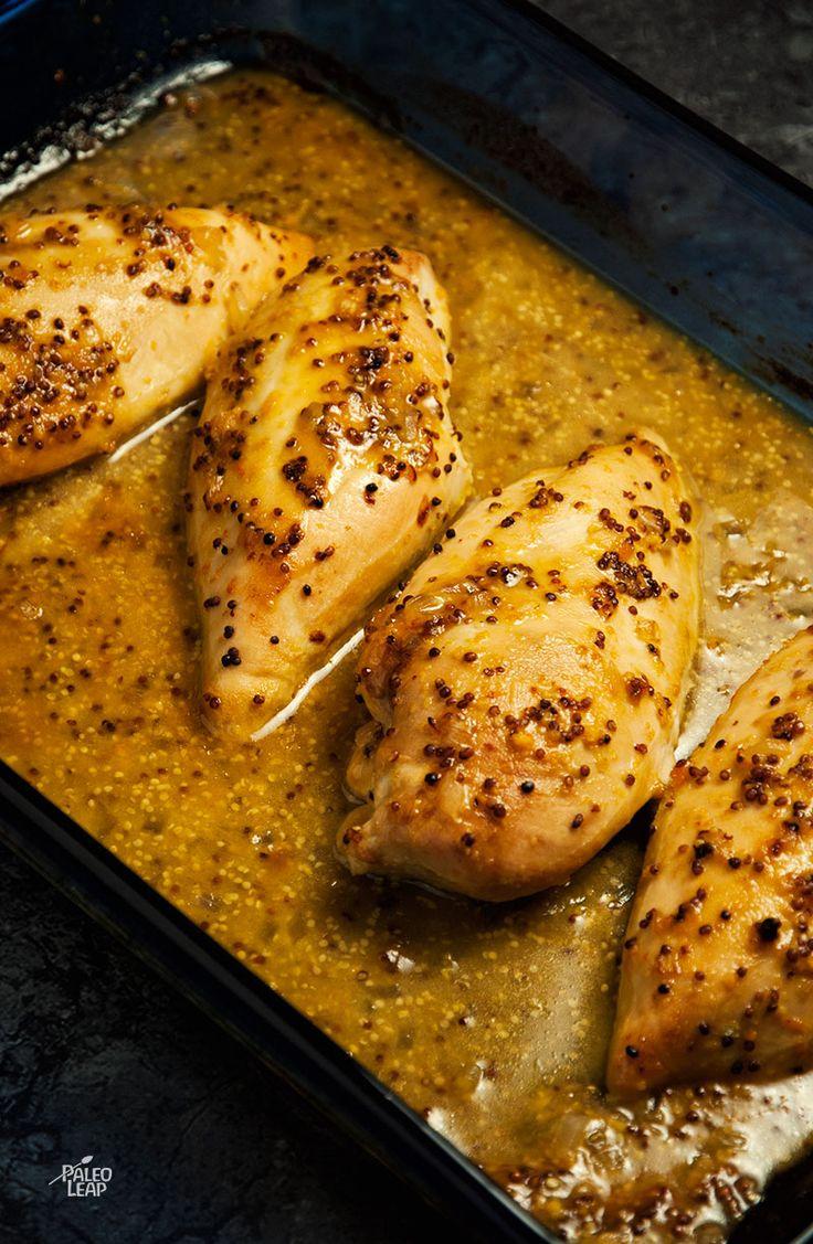 Orange-Mustard Chicken