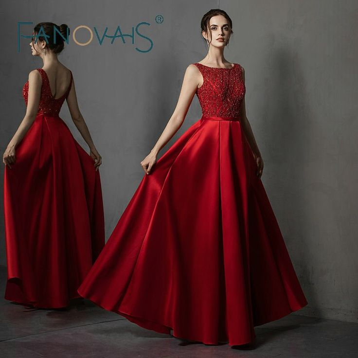 Cheap Evening Dresses, Buy Directly from China Suppliers:Red Evening Dresses Sat…