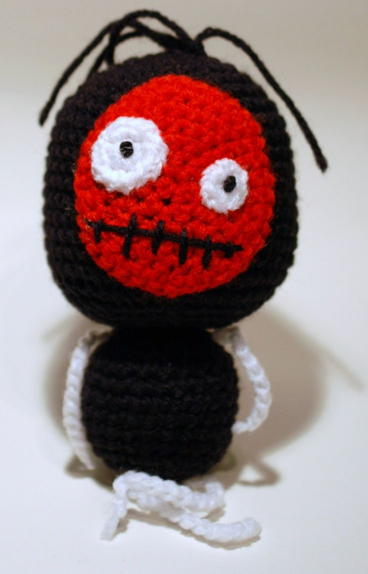 amigurumi, a crochet monster, ett virkat monster
