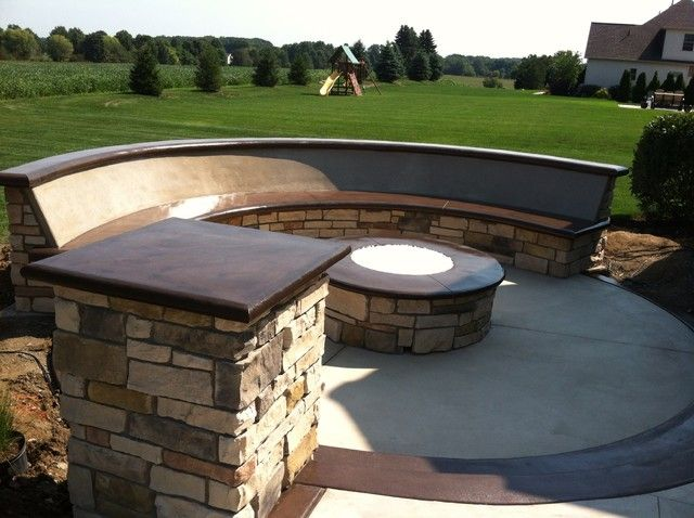 11 Best Fire Pit Landscaping Images On Pinterest