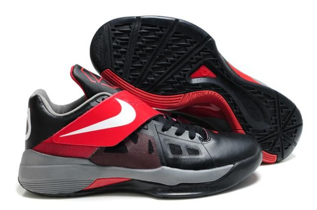 http://www.nikeblazershoes.com/nike-kevin-durant-4-black-white-varsity-red-p-200.html Only$77.68 #NIKE KEVIN DURANT 4 BLACK WHITE VARSITY RED #Free #Shipping!
