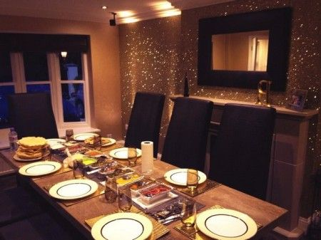 gold glitter wall paint home pinterest glitter walls paint and. Black Bedroom Furniture Sets. Home Design Ideas