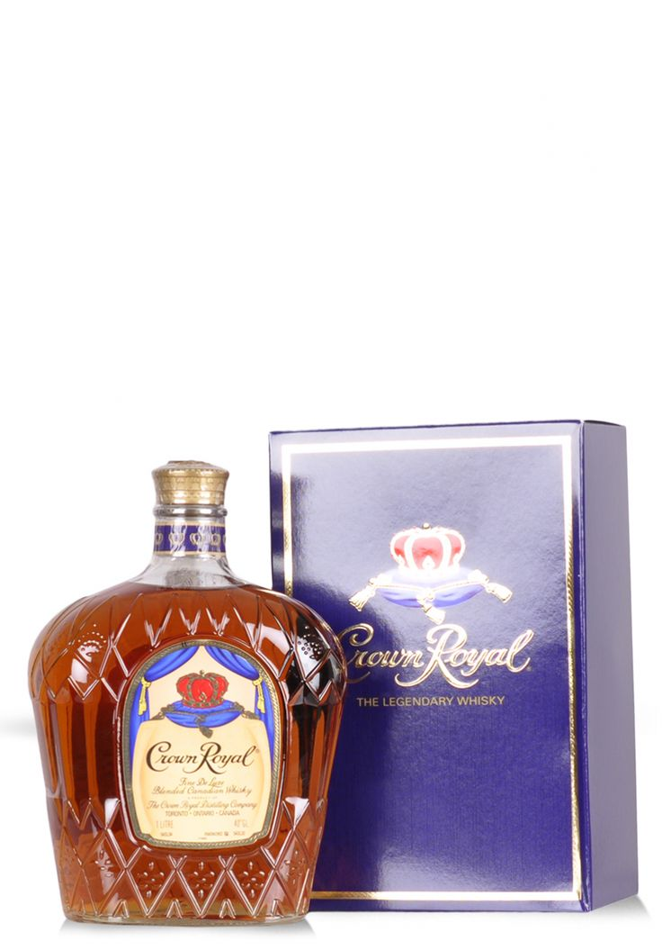 Whisky Crown Royal Deluxe, Canadian (1L) - SmartDrinks.ro