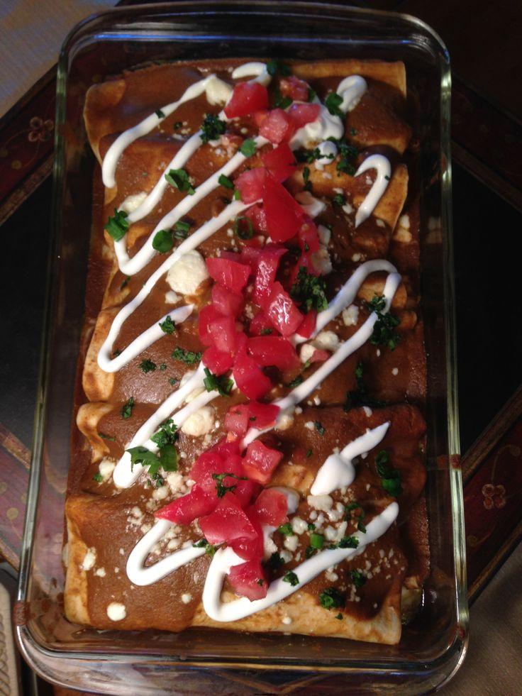 tucson personalchef enchiladas chefmiketucson