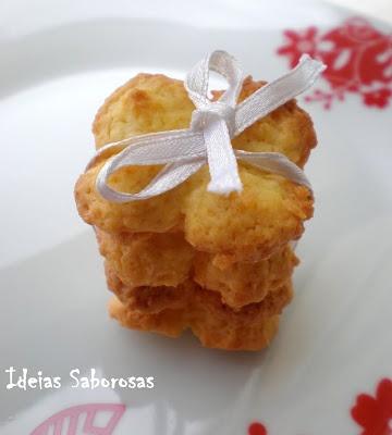 Biscoitos de Côco e Laranja