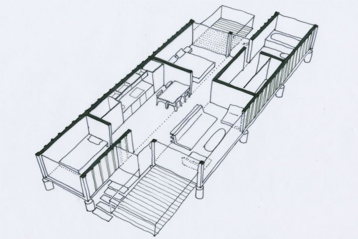 ... , Container Houses, Floor Plans, Architecture, Shipping Containers