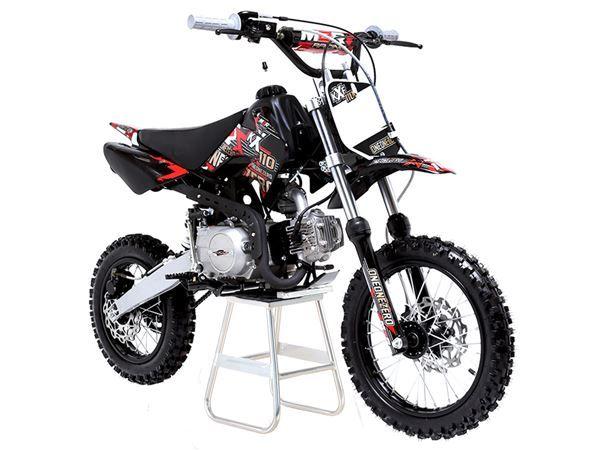 M2R Racing KX110F 110cc Petrol 76cm Red Pit Bike