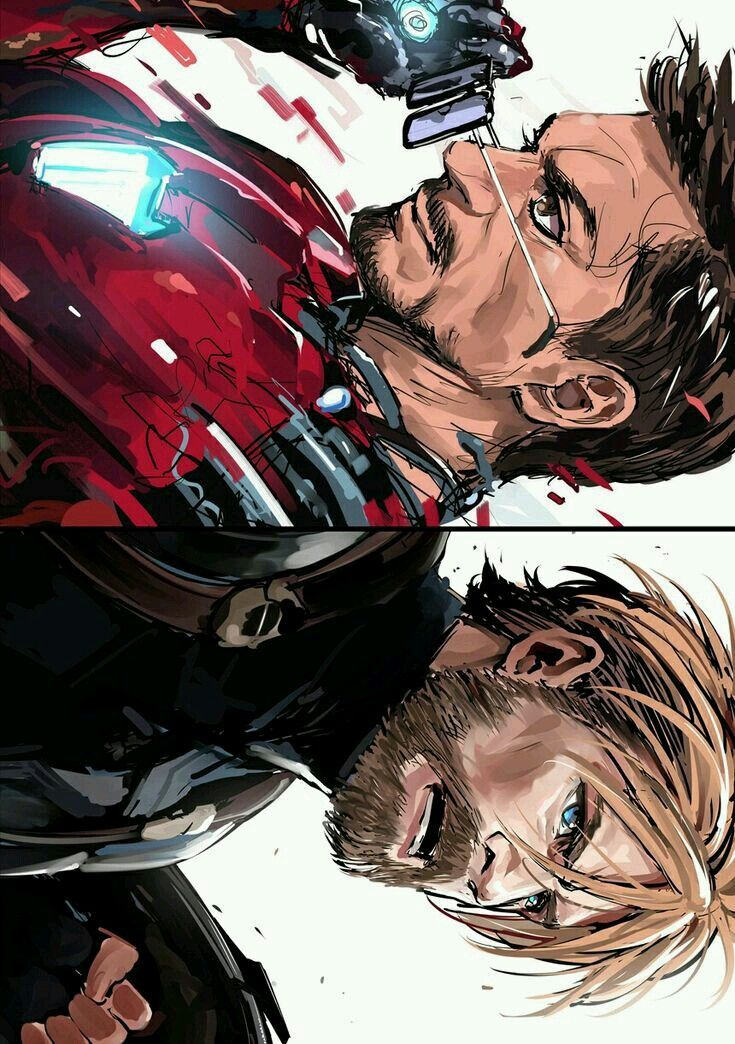 Tony stark Vs Captain America