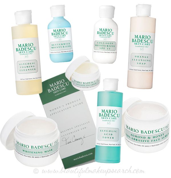 mario badescu acne starter kit how to use