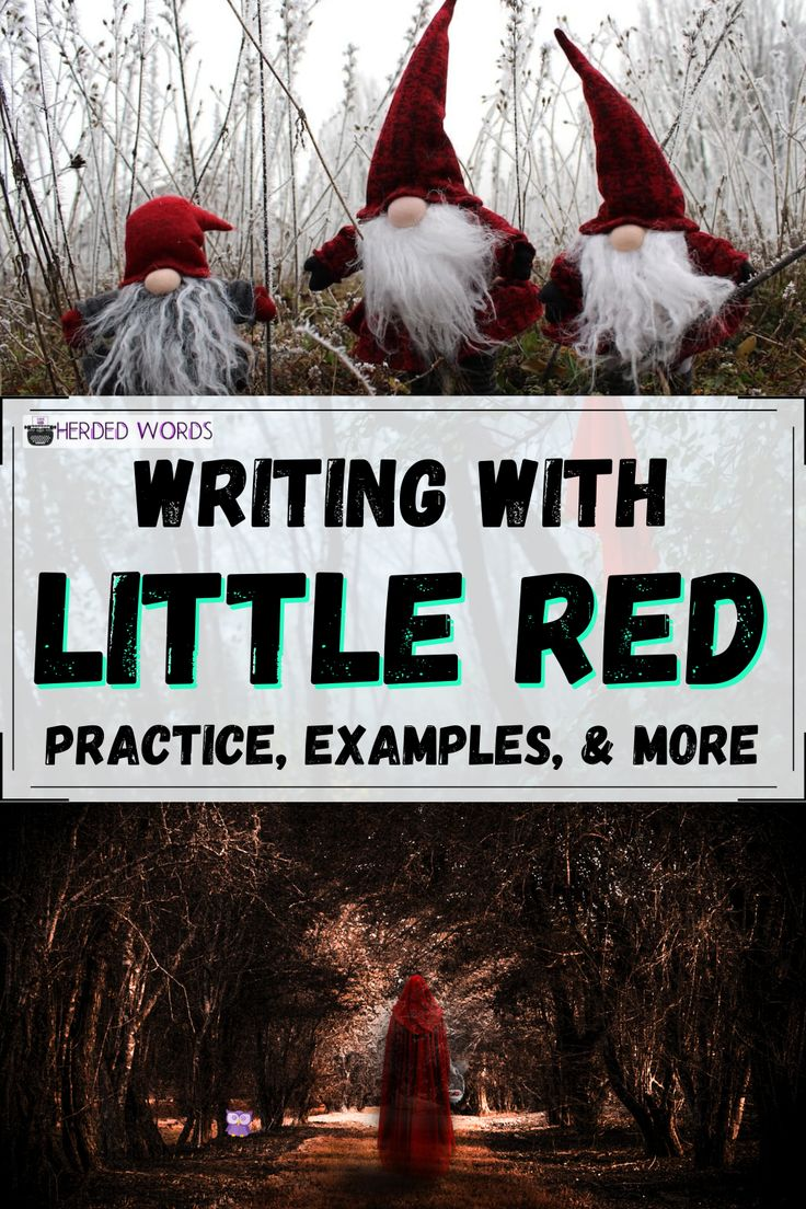 Little red riding hood summary analysis herded words