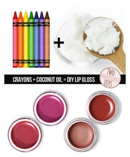DIY Lip gloss!