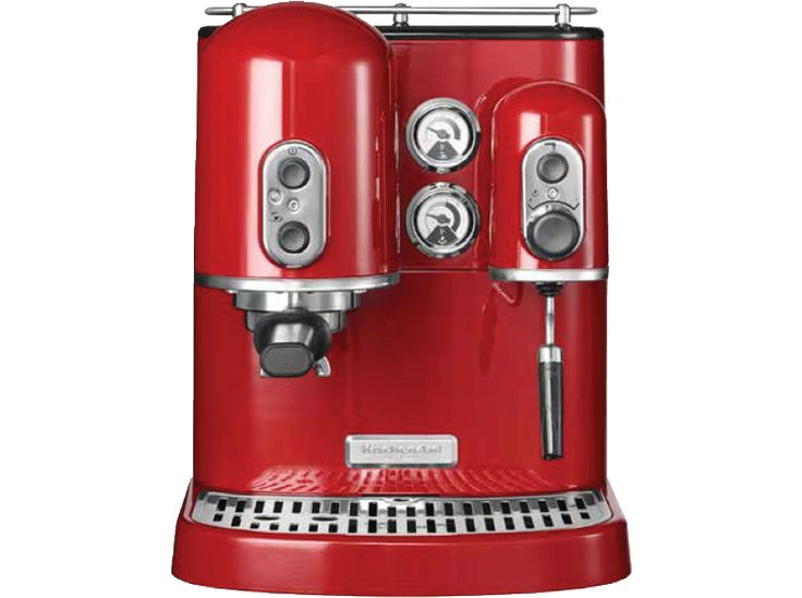 KITCHENAID 5KES2102EER Artisan-Espressomaschine Empire Rot Siebträger günstig bei SATURN bestellen